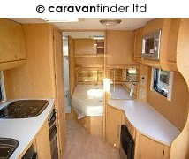 Used Bailey Burgundy S6 2008 touring caravan Image