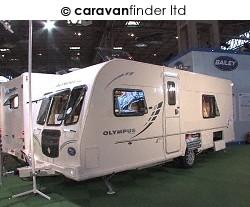 Bailey Olympus 534 2010  Caravan Thumbnail