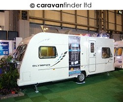 Bailey Olympus 546 2010  Caravan Thumbnail