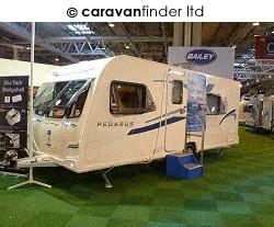 Used Bailey Pegasus Rimini 2011 touring caravan Image