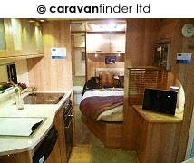 Used Bailey Unicorn Valencia 2012 touring caravan Image