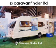 Bailey Olympus 540 2013 caravan
