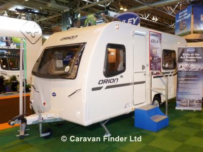 Bailey Orion 430 2013  Caravan Thumbnail