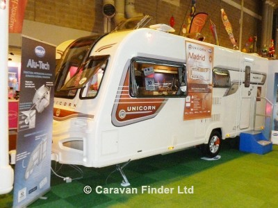 Used Bailey Unicorn Madrid S2 2013 touring caravan Image