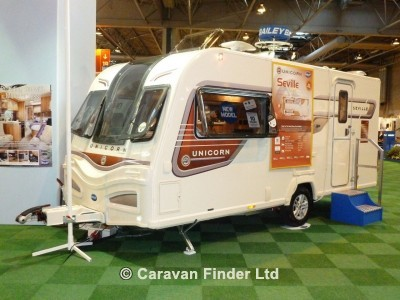 Used Bailey Unicorn Seville S2 2013 touring caravan Image