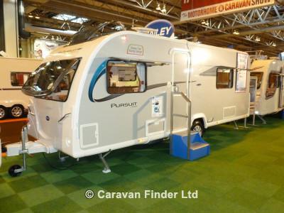 Used Bailey Pursuit Plus 550 2014 touring caravan Image