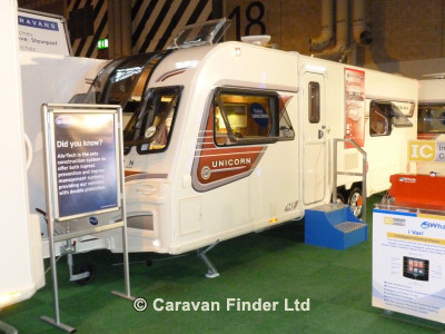 Bailey Unicorn Barcelona S2 2014  Caravan Thumbnail