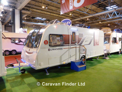 Bailey Unicorn Cartagena S3 2015  Caravan Thumbnail