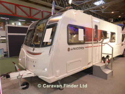 Bailey Unicorn Barcelona 2017  Caravan Thumbnail