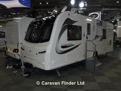 Bailey Unicorn Valencia Black Edition 2020  Caravan Thumbnail