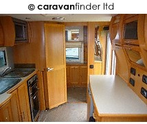 Used Compass Omega 482 2009 touring caravan Image