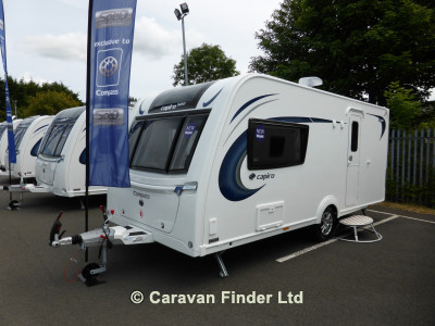 New Compass Capiro 520 2020 touring caravan Image