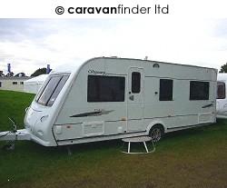 Elddis Odyssey 544 2008  Caravan Thumbnail