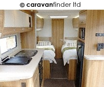 Used Elddis Crusader Super Cyclone 2014 touring caravan Image