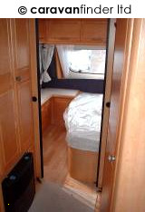 Used Hobby Exclusive 540 2003 touring caravan Image