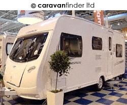 Used Lunar Cosmos 546 2013 touring caravan Image
