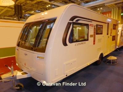 Used Lunar Cosmos 586 2016 touring caravan Image