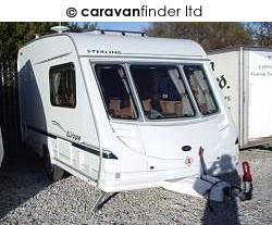 Used Sterling Europa 390 2004 touring caravan Image