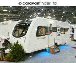 Used Sterling Eccles Solitaire 2012 touring caravan Image