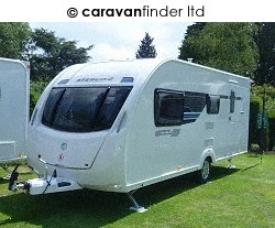 Used Sterling Eccles Sport 524 2012 touring caravan Image