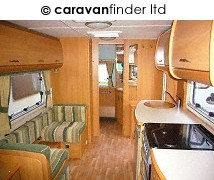 Used Swift Conqueror 580 2004 touring caravan Image