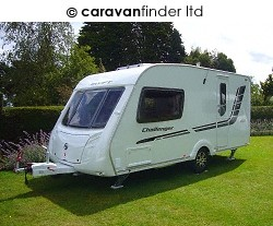 Swift Challenger 480 2010  Caravan Thumbnail