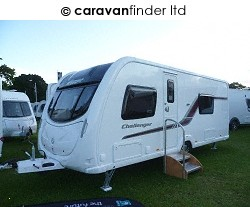 Used Swift Challenger 570 2012 touring caravan Image