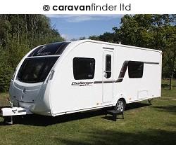 Used Swift Challenger Sport 554 SR 2012 touring caravan Image