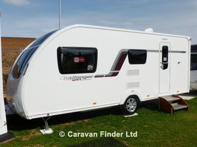 Used Swift Challenger Sport 524 2013 touring caravan Image