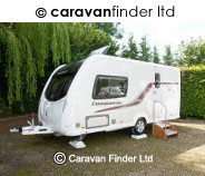 Swift Conqueror 480 caravan