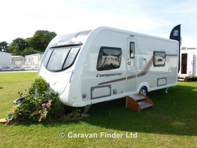 Used Swift Conqueror 570 2013 touring caravan Image