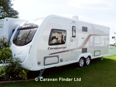 Used Swift Conqueror 645 2013 touring caravan Image