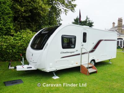 Swift Challenger 580 SE 2014  Caravan Thumbnail