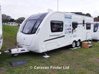 Swift Challenger 590 SE 2014  Caravan Thumbnail