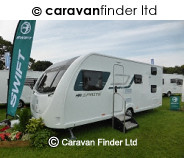 Swift Sprite Major 6 Rhuddlan 2018 caravan