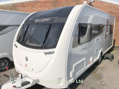 Swift Sprite Vogue 590 TD 2018  Caravan Thumbnail