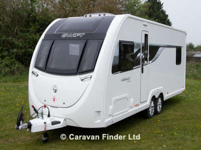 Swift Sprite Vogue 635 EB 2019  Caravan Thumbnail